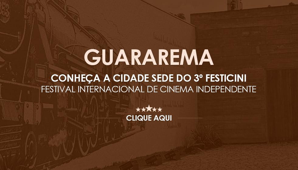 Guararema Cidade Sede FESTICINI 2018
