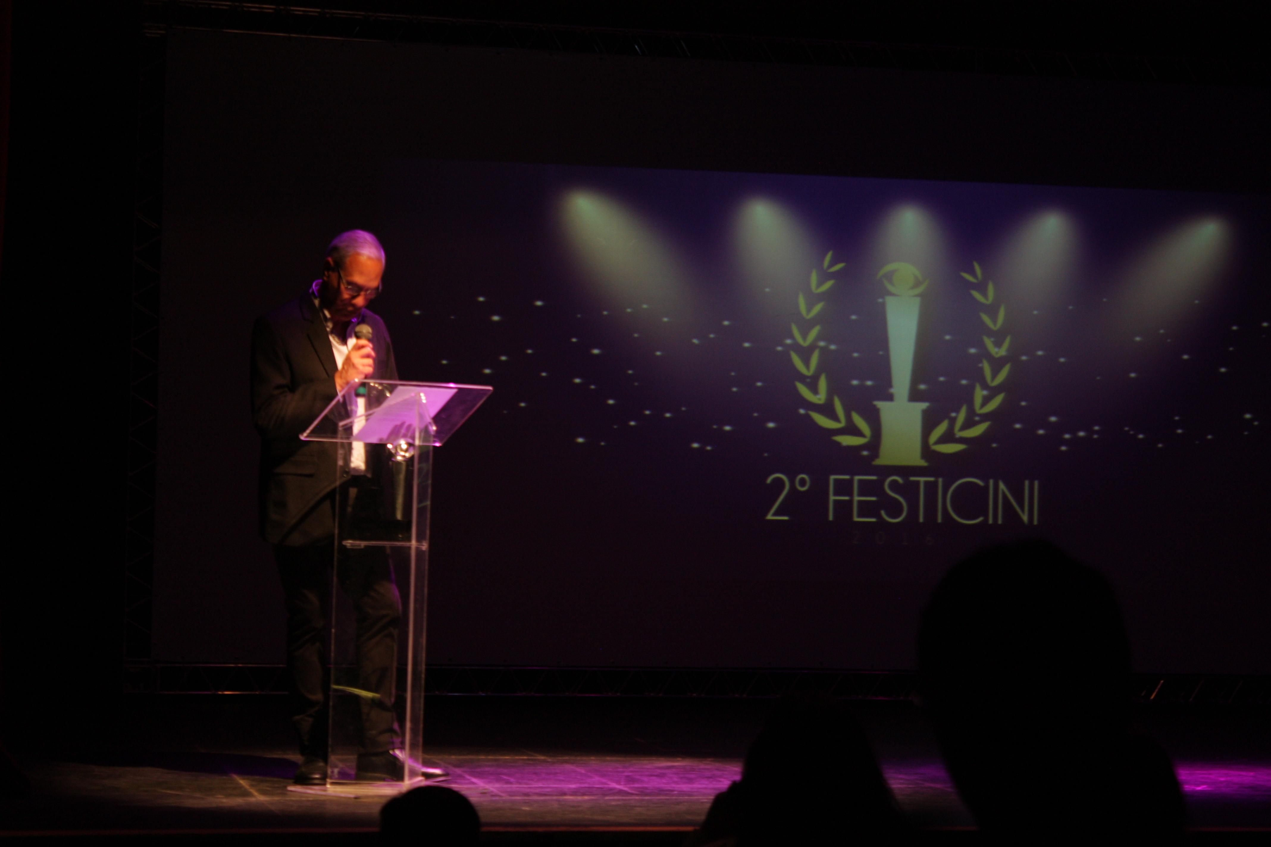 Carlos Braga -  organizador do  FESTICINI 2016