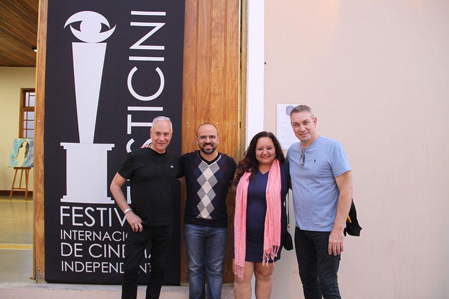 Carlos Braga, Andre Morais, Ingrid Trigueiro e Wilson Roque  Basso