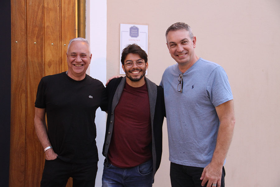 Carlos Braga, Filipi Silveira, Wilson Roque Basso