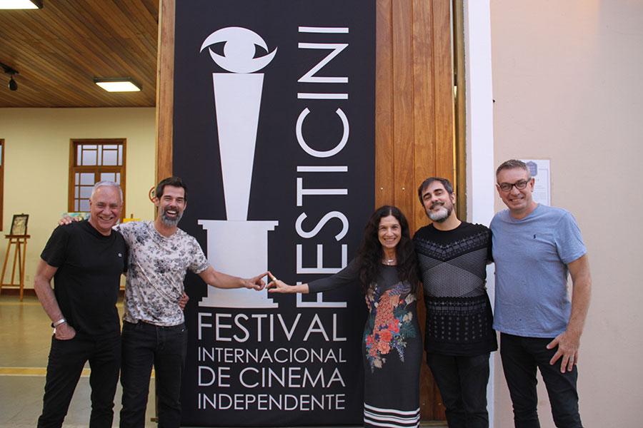 Carlos Braga, Ivann Willig, Tuna Dwek, Renato Severo, e Wilson Roque  Basso