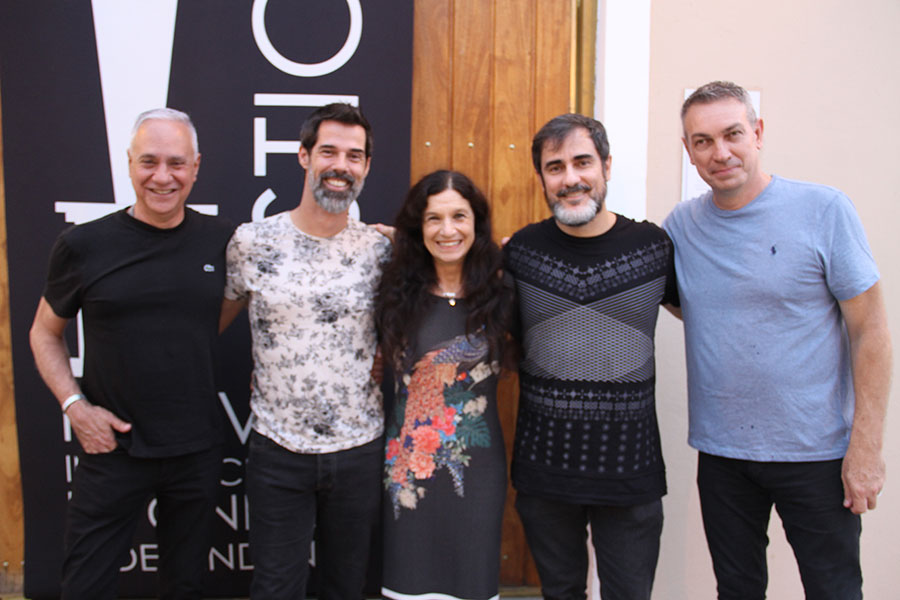 Carlos Braga, Ivann Willig,Renato Severo, Tuna Dwuek e Wilson Roque  Basso